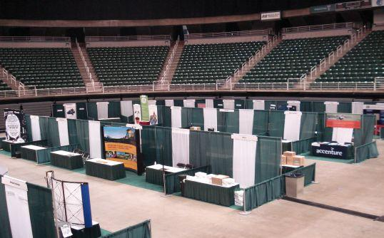 Trade Show Booth Equipment : Art craft display